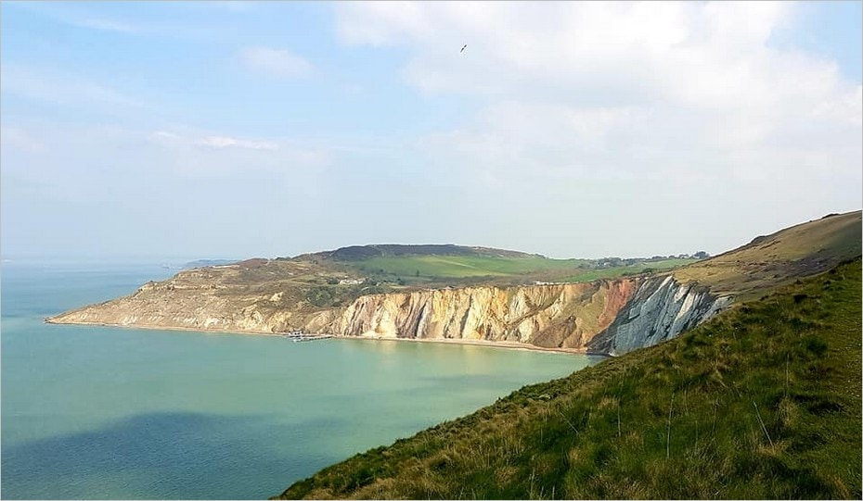 Les côtes de l'Isle of Wight
