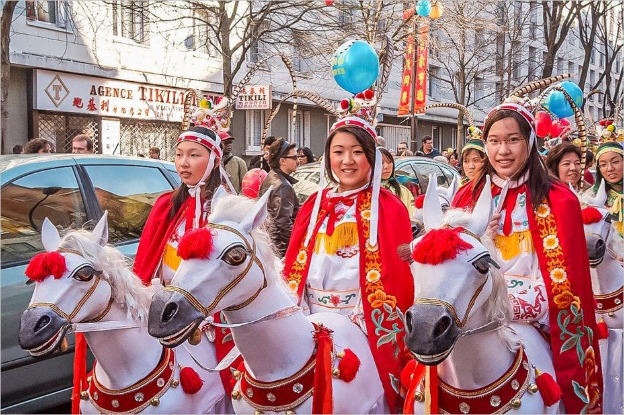Le Nouvel An chinois à Paris