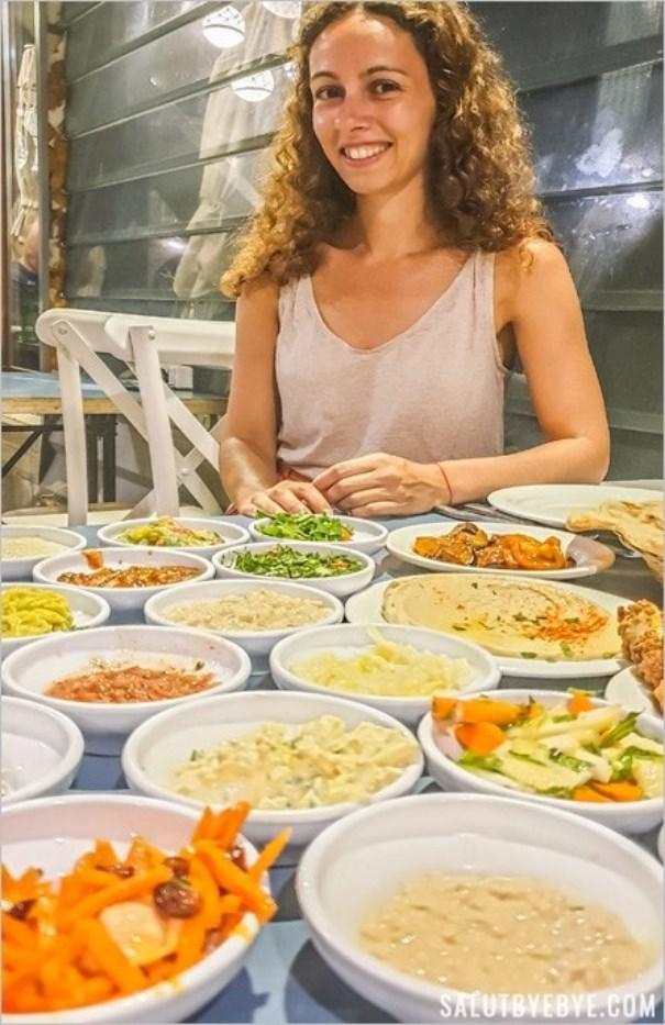 Dîner gargantuesque à Tel Aviv