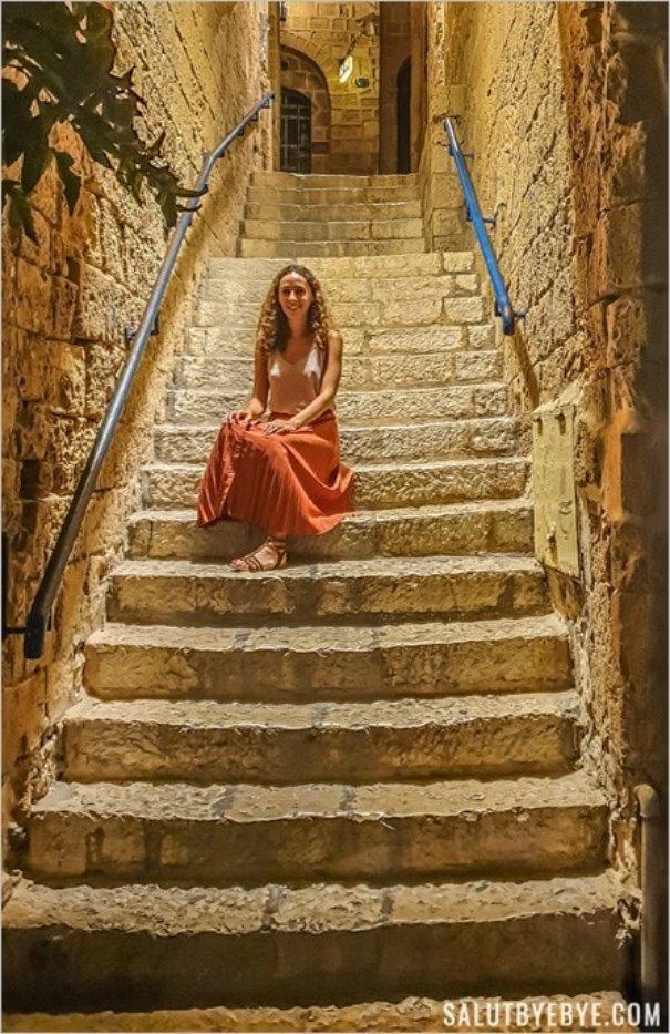 Voyager seule en Israël