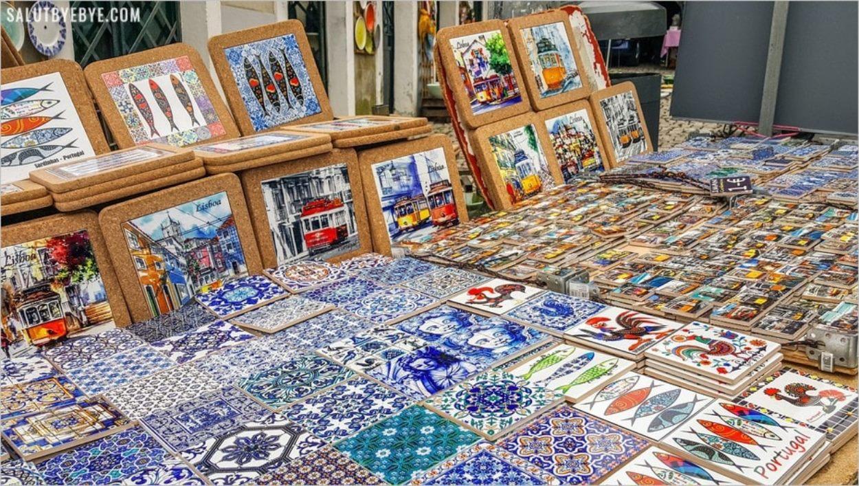 Un marché de Lisbonne