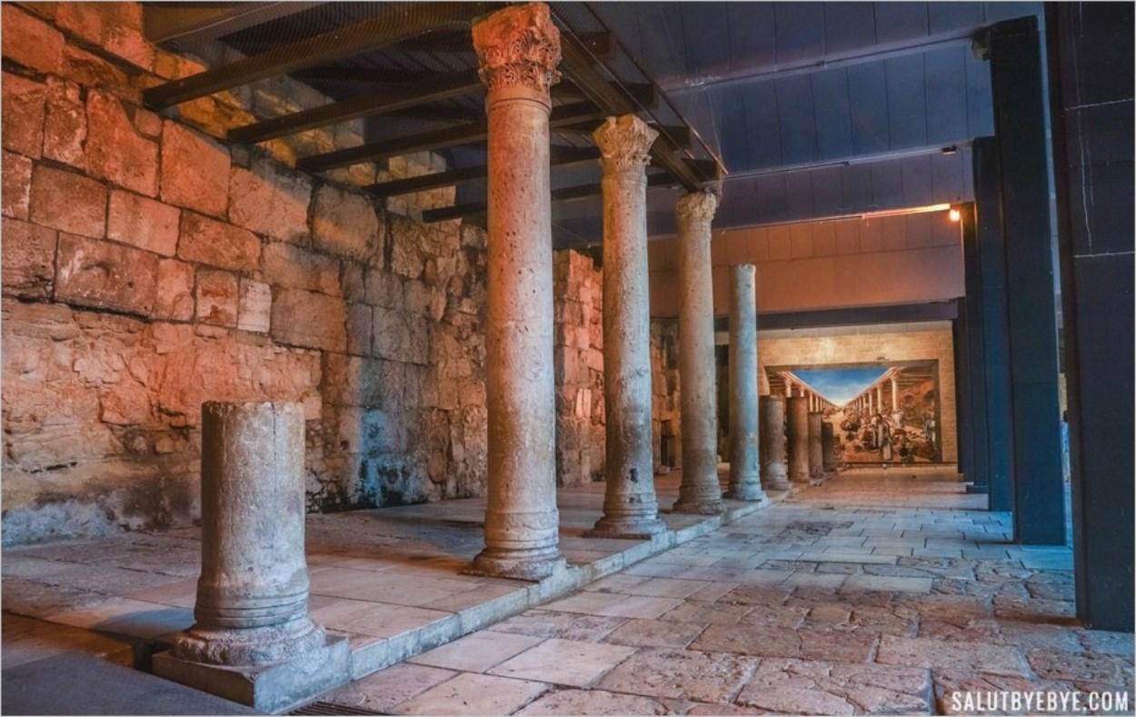 Le Cardo à Jérusalem