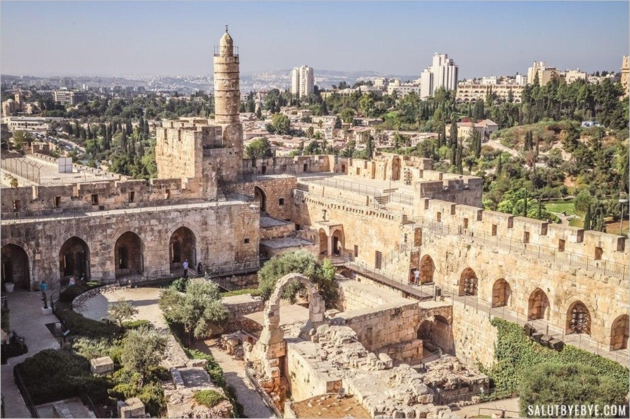 La Tour de David, une ancienne citadelle à Jérusalem