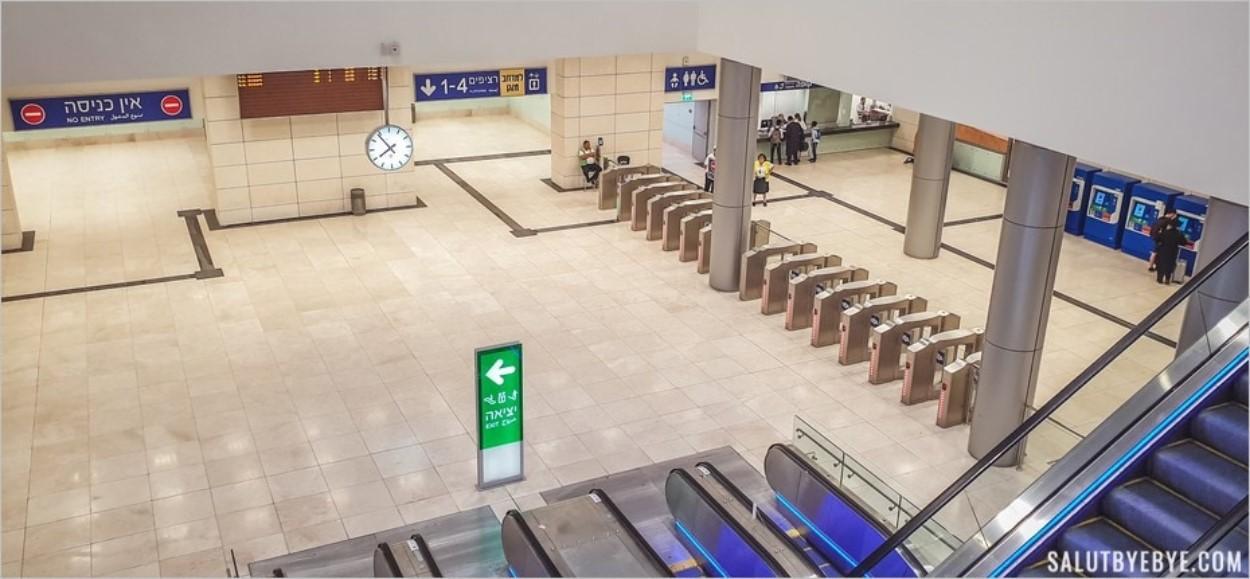 Gare de Yitzhak Navon à Jérusalem