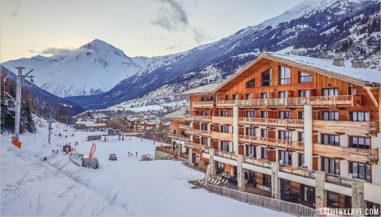L'hôtel Saint Charles de Val Cenis, au pied des pistes