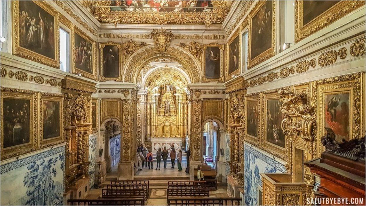 L'église de l'ancien couvent Madre de Deus
