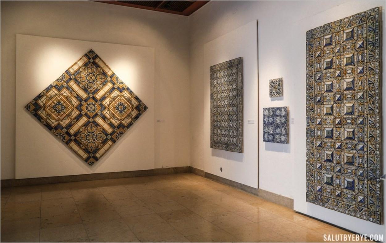 Musée des azulejos au Portugal