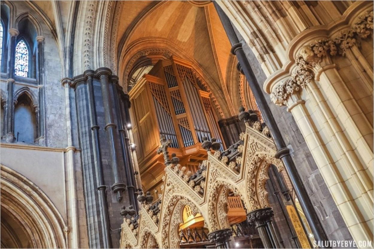 L'orgue de Christ Church en Irlande