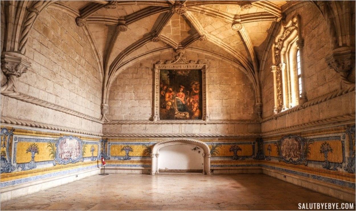 Réfectoire du monastère des Hiéronymites
