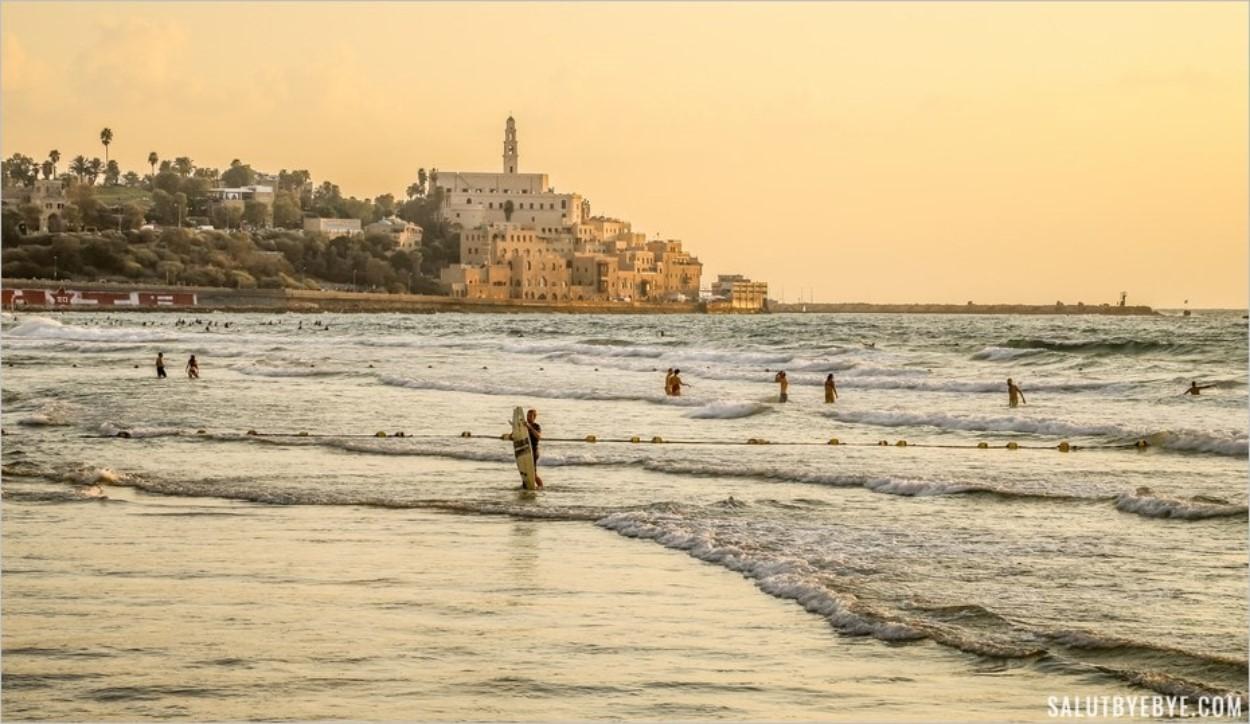 Ville de Tel Aviv en Israël