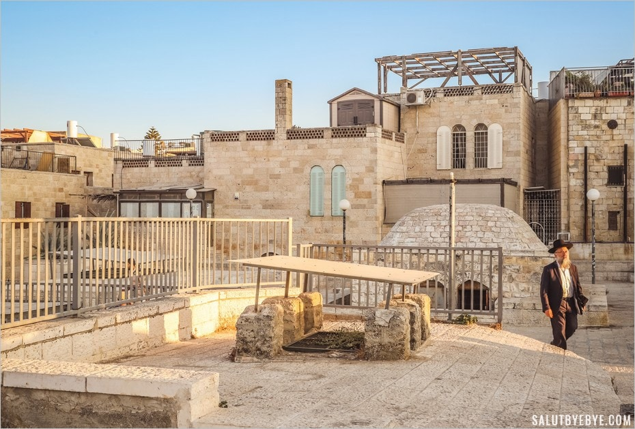 Les toits de la vieille ville de Jérusalem