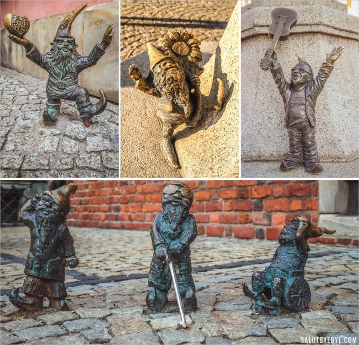 Les lutins de Wroclaw en Pologne