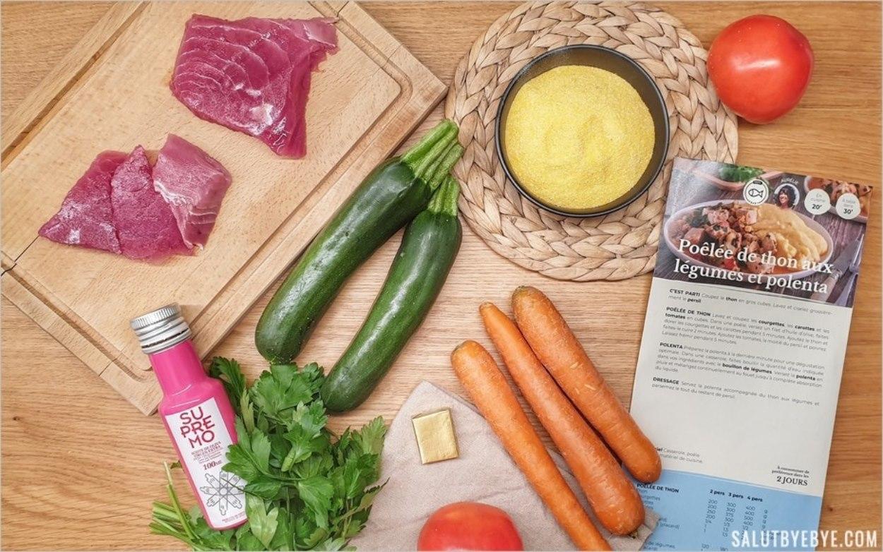 Les ingrédients de la recette Rutabago à base de thon