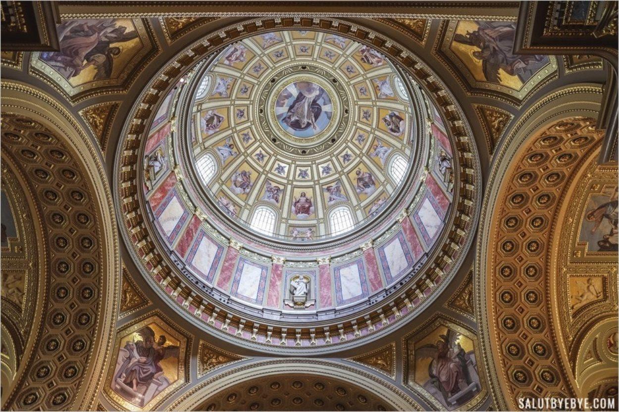 Dôme de la basilique de Budapest
