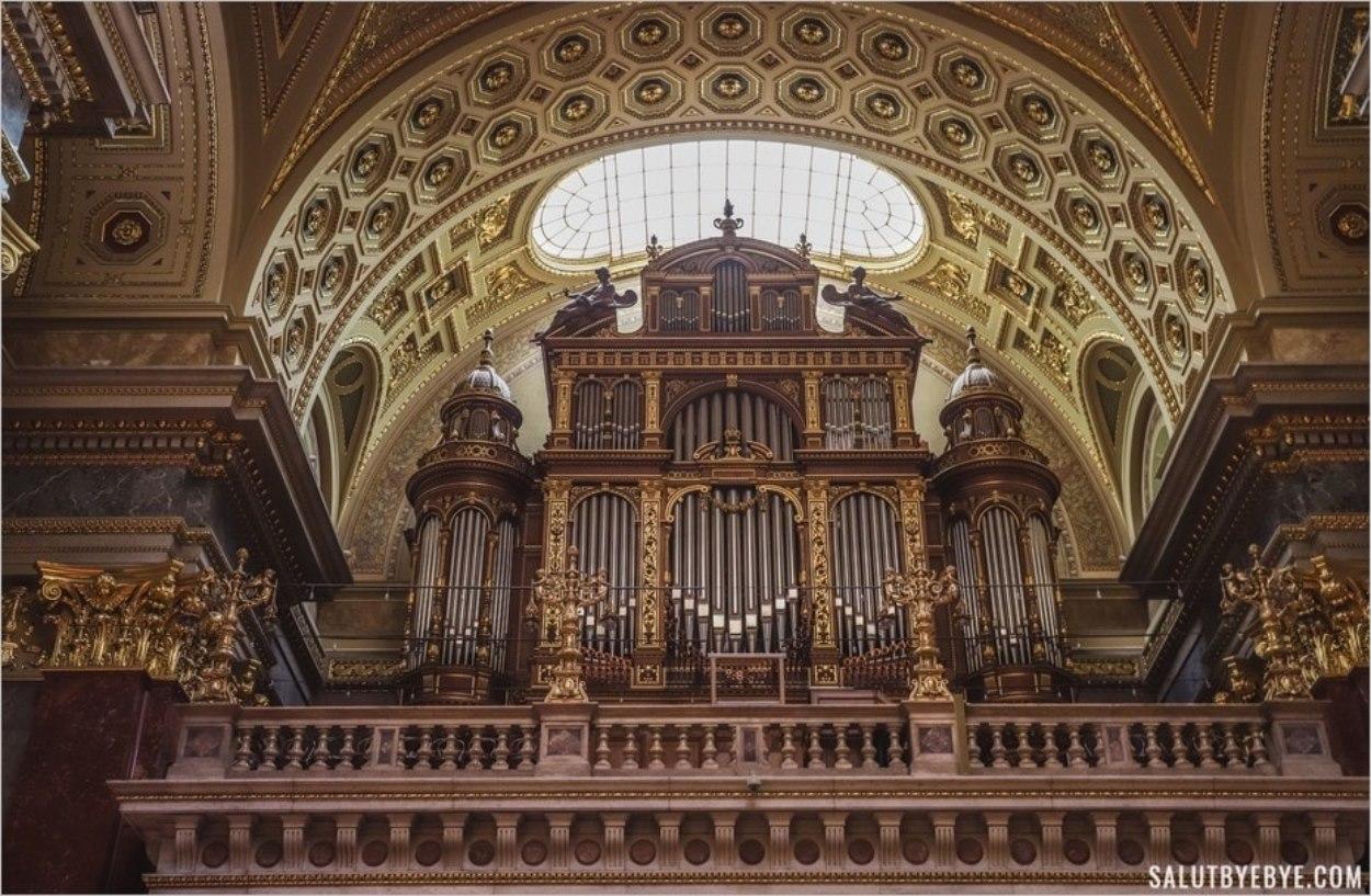 Orgue de la Basilique de Budapest