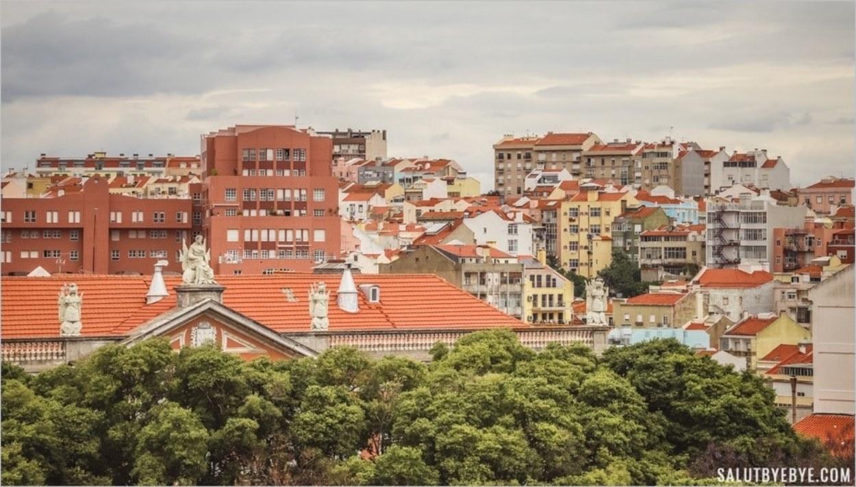 Vue depuis le Panthéon de Lisbonne