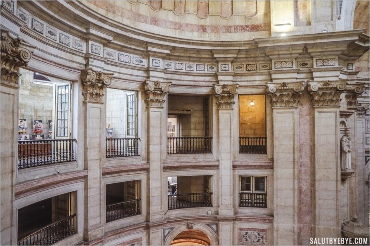 Les balcons du Panthéon national