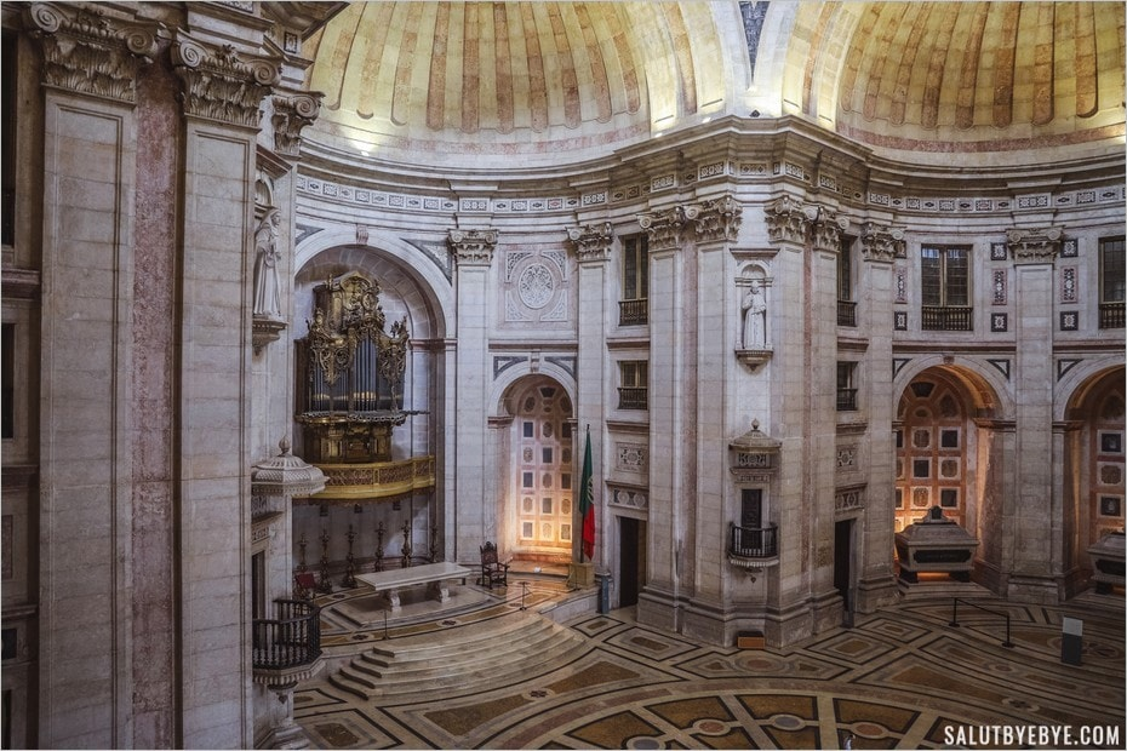 Les dimensions impressionnantes du Panthéon de Lisbonne