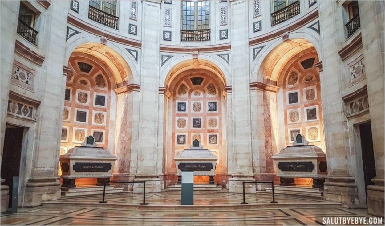 Tombeaux du Panthéon de Lisbonne