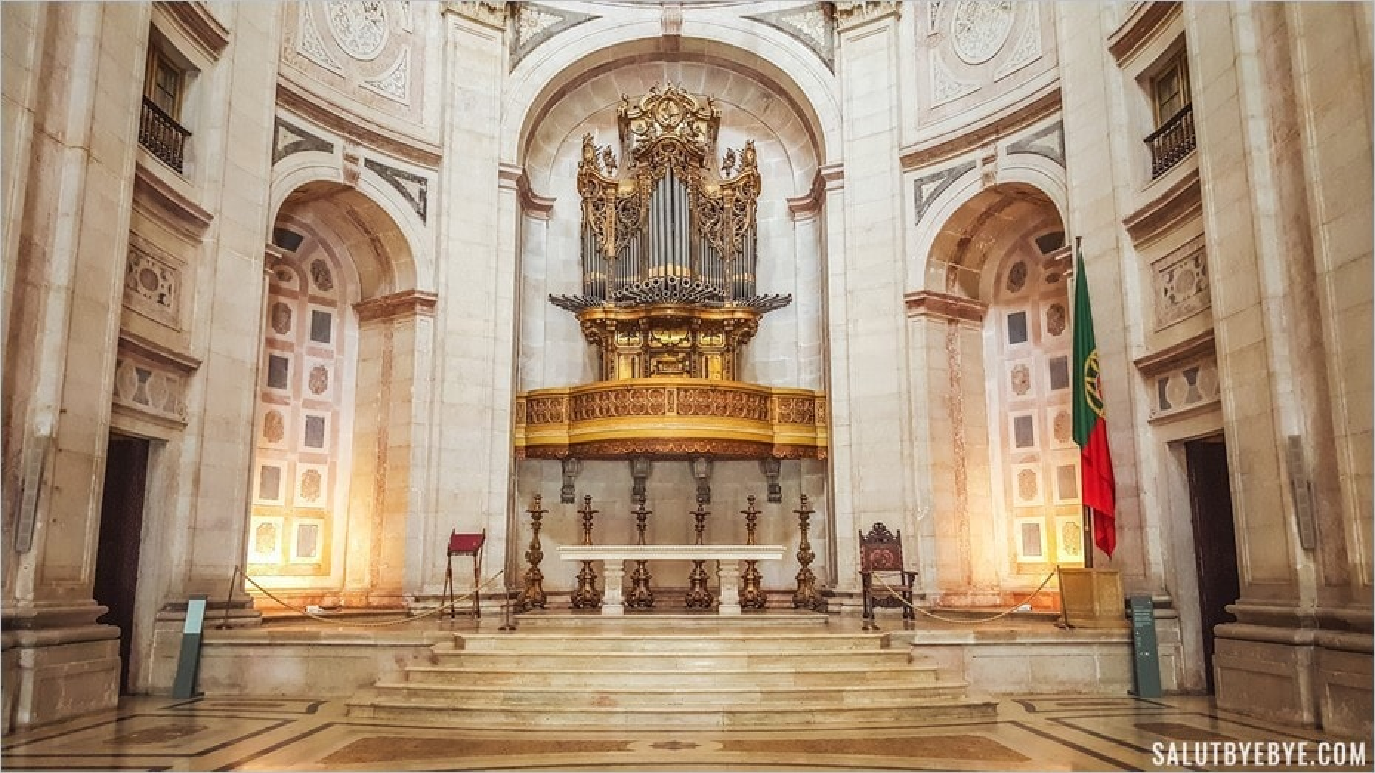 Visite du Panthéon national de Lisbonne, un monument grandiose