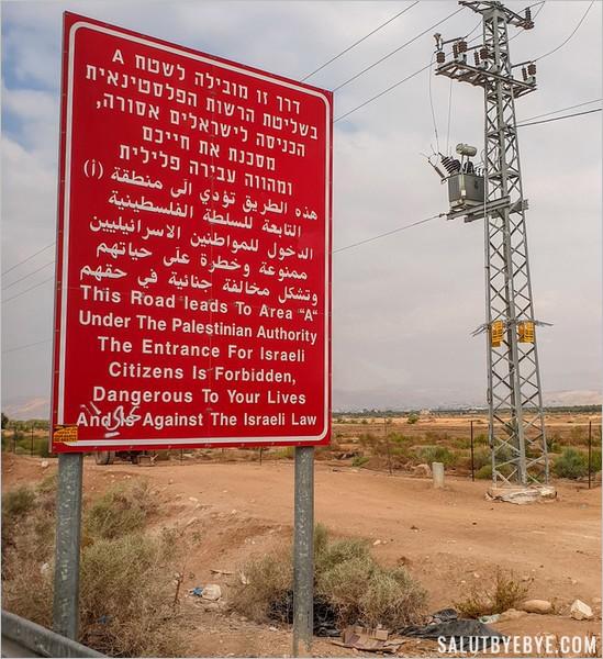 Interdiction aux citoyens israéliens d'entrer en Cisjordanie