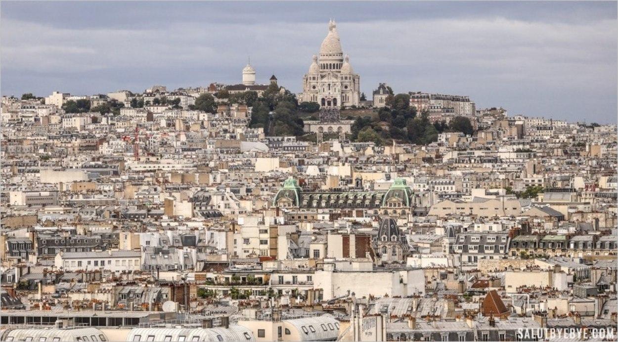 La butte Montmartre à Paris