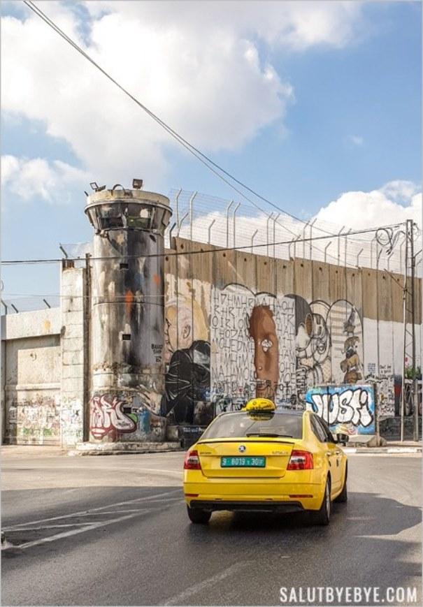 Le mur entre Israël et Palestine