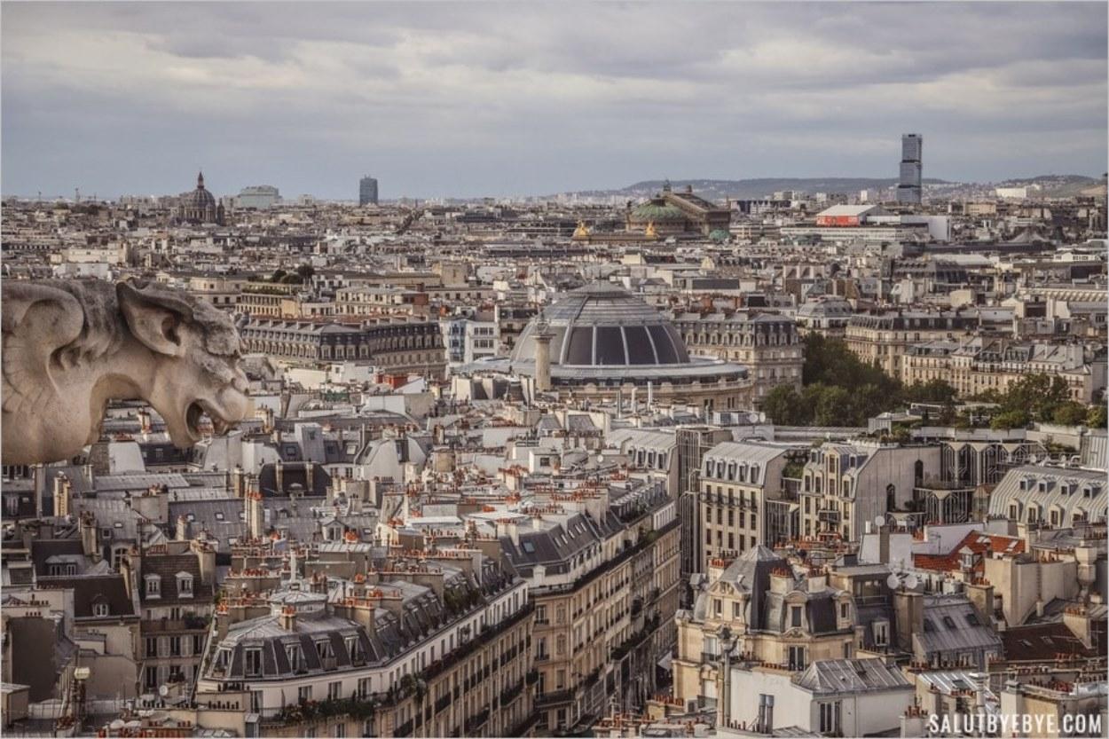 La Bourse de Commerce et l'Opéra Garnier