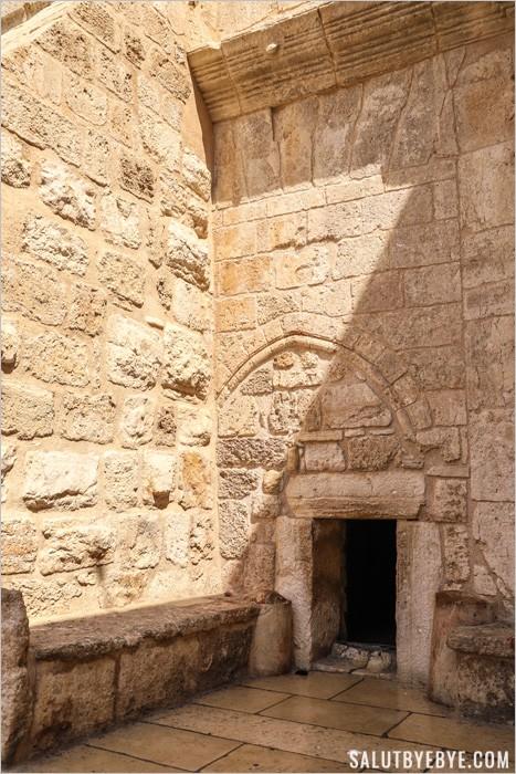 La porte de l'humilité à Bethléem