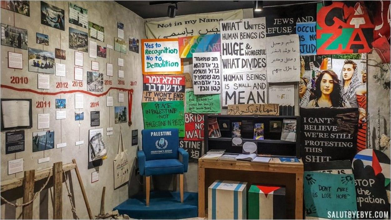 Musée du Walled-Off Hotel de Banksy à Bethléem
