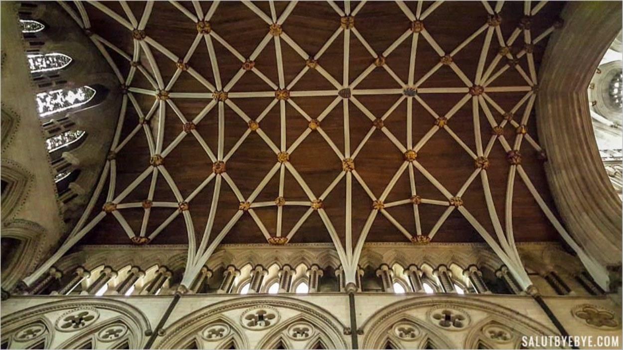 Plafond du transept nord de la cathédrale de York