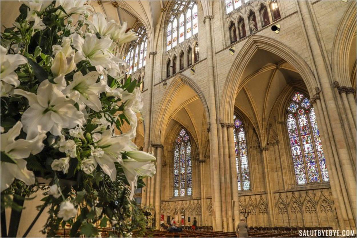 Intérieur de la cathédrale de York