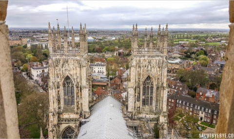 Visite de York Minster, l'incroyable cathédrale de York