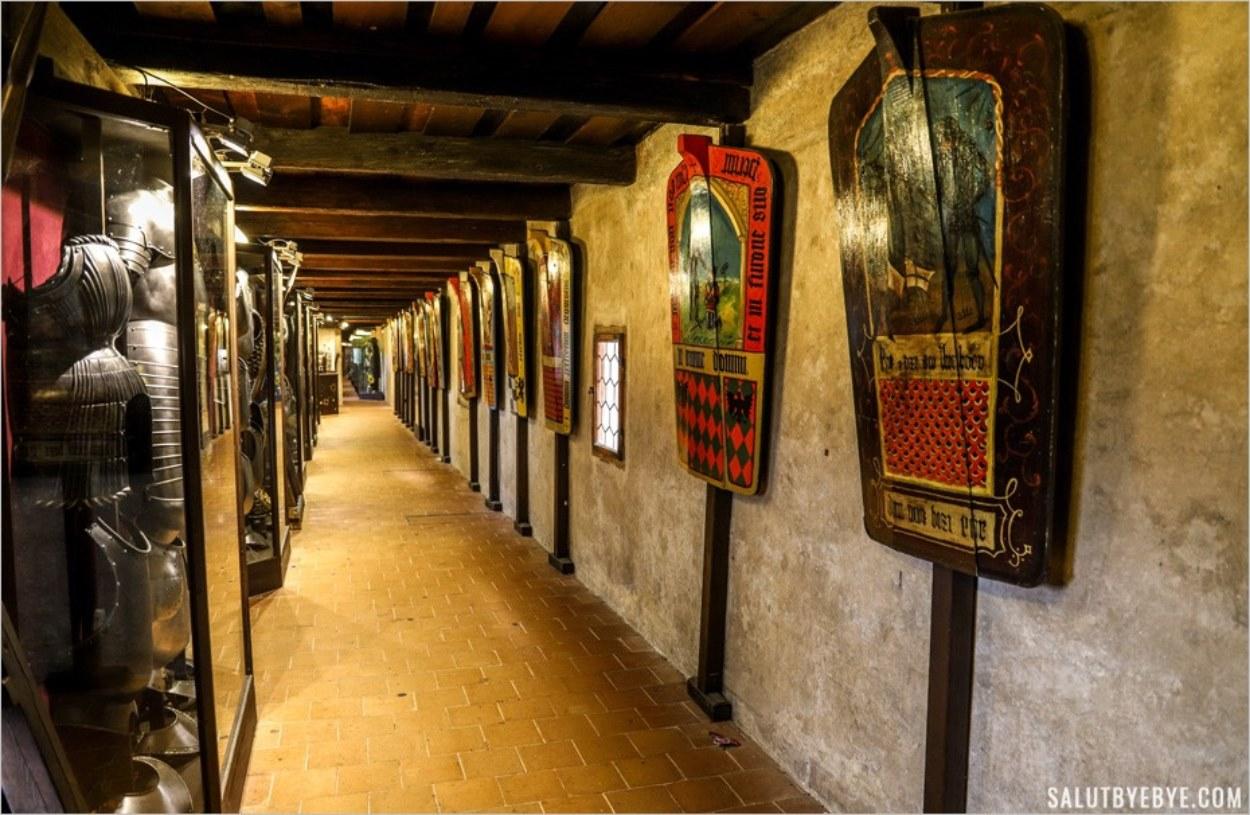 Le couloir de la ruelle d'Or