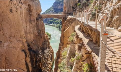 Le Caminito del Rey près de Malaga, l'ex-chemin de tous les dangers !