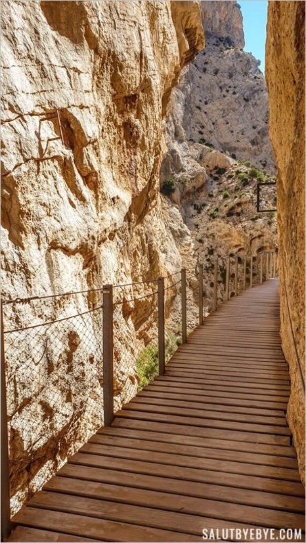 Caminito del Rey près de Malaga