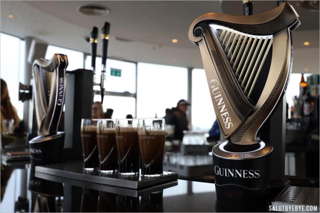 Visite du musée Guinness à Dublin : la Guinness Storehouse