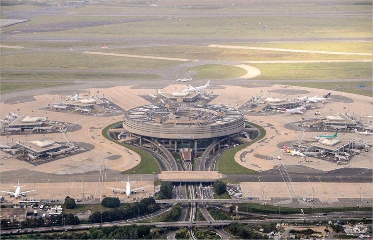 Le terminal 1 de l'aéroport Charles de Gaulle