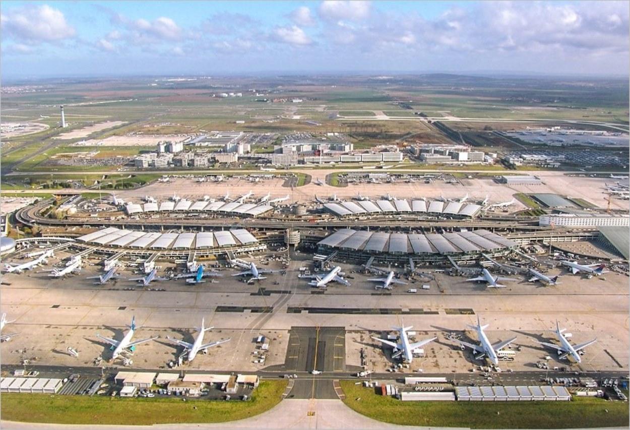L'aéroport de Paris Roissy CDG