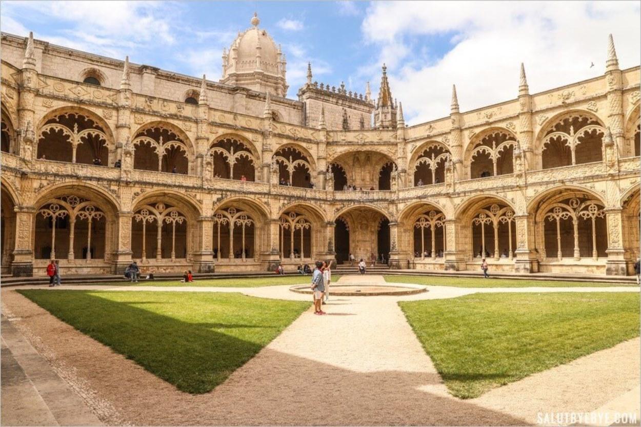 Le monastère des Hiéronymites à Lisbonne, joyau architectural