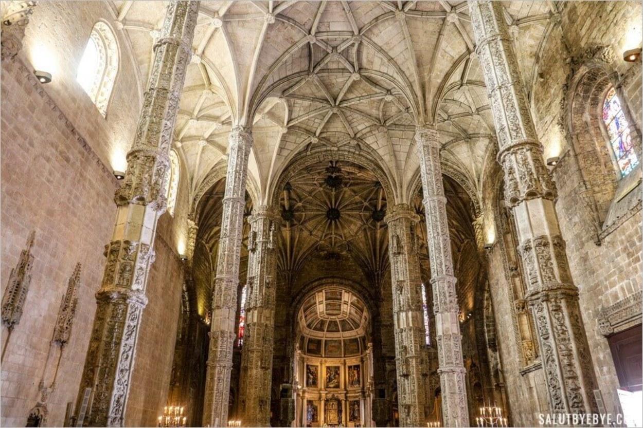 L'église-halle Santa Maria de Belem