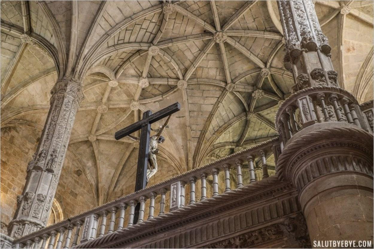 L'église du monastère de Lisbonne