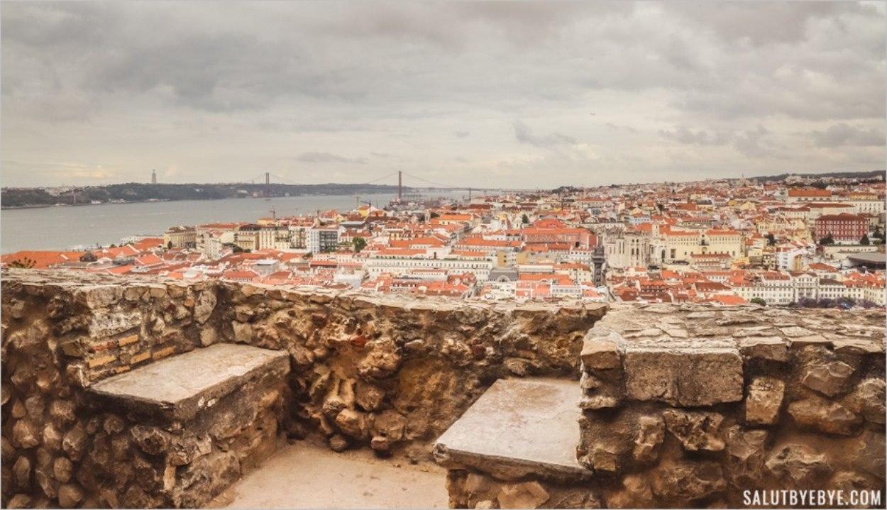Visite du château Saint Georges à Lisbonne