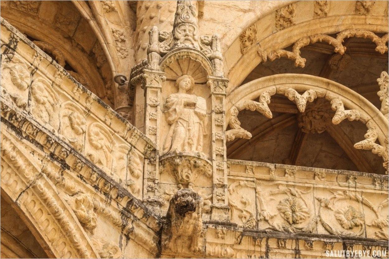 Détail du monastère des Hiéronymites