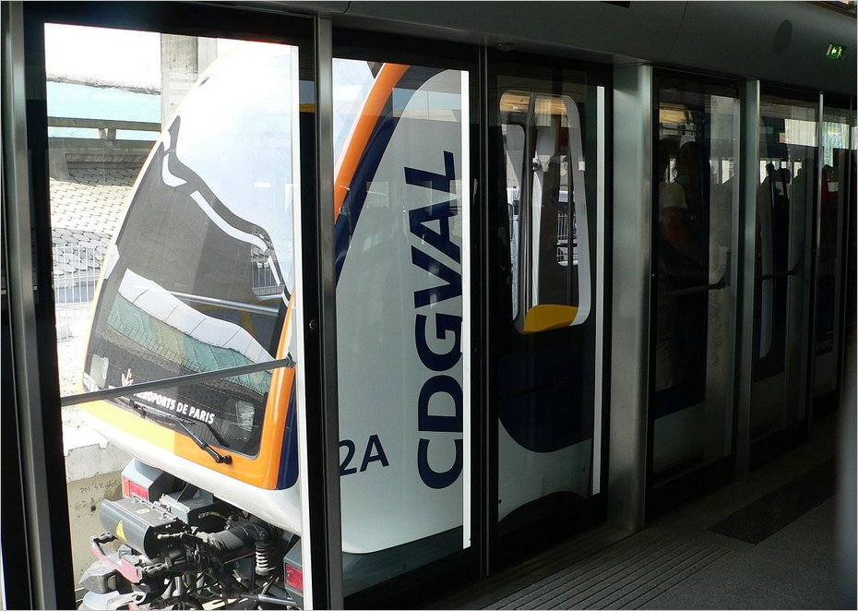 La navette CDGVAL