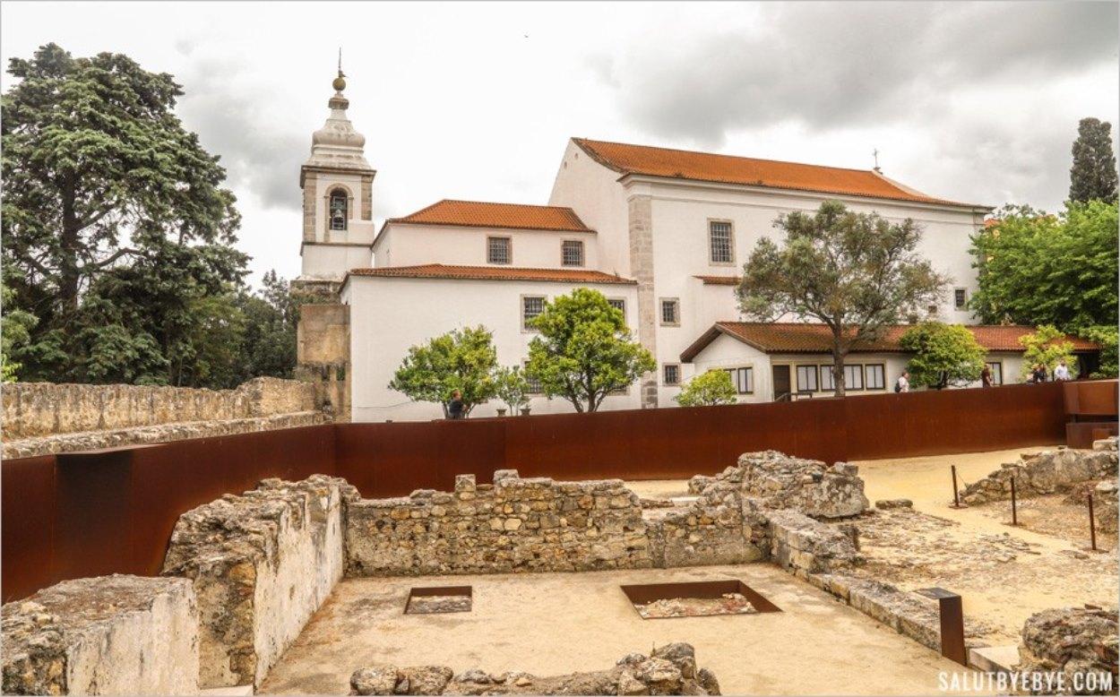Le site archéologique du château de Lisbonne