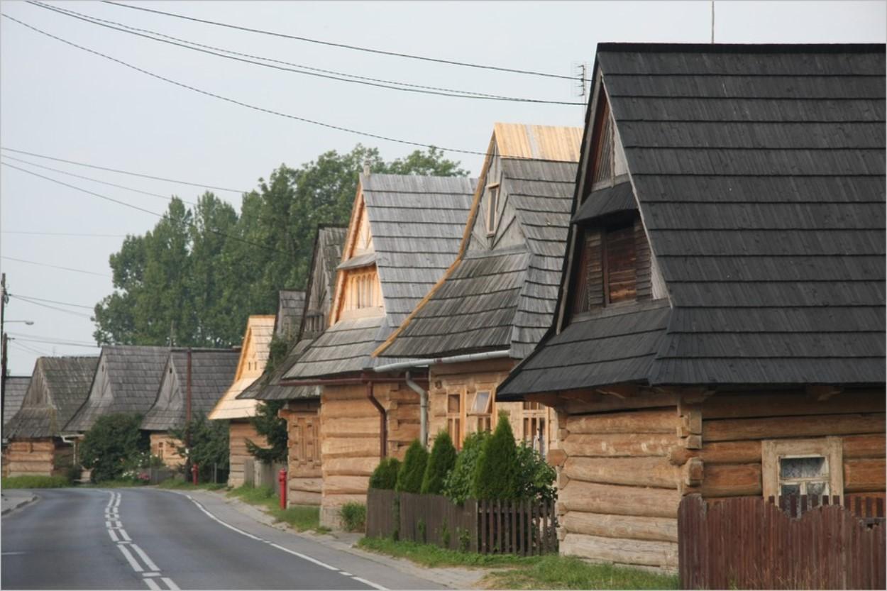 Les maisons en bois de Chocholow