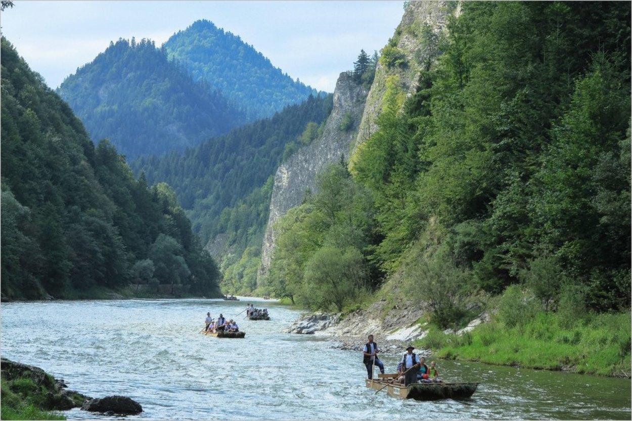 Excursion en radeau sur le fleuve Dunajec