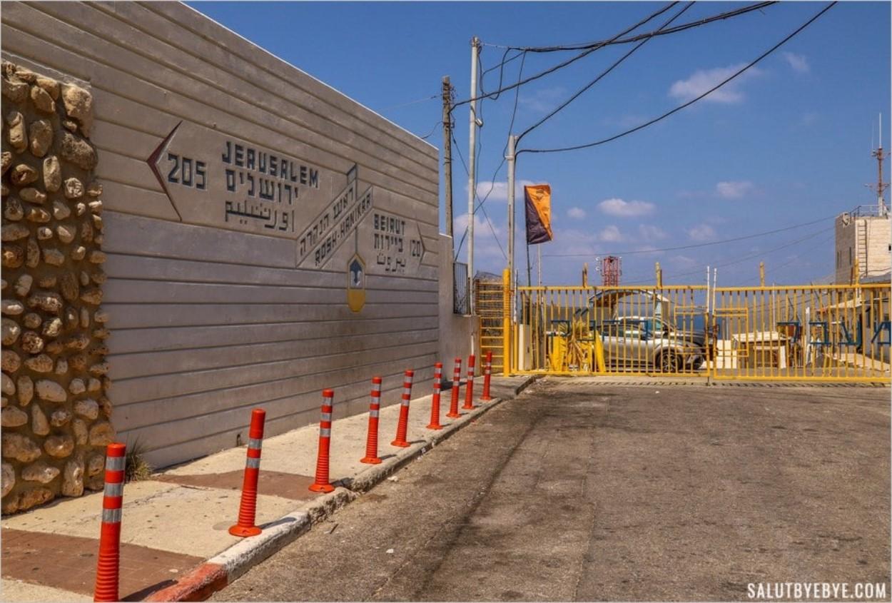 Frontière entre Israël et le Liban