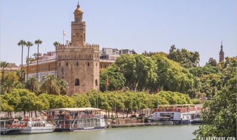 Visiter la Tour de l'Or à Séville (Torre del Oro) et son musée naval